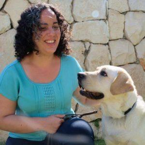 טל לדרמן והכלב שלה