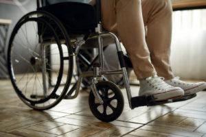 כסא גלגלים. אילוסטרציה