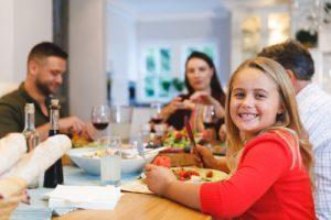 ארוחת החג - אילוסטרציה
